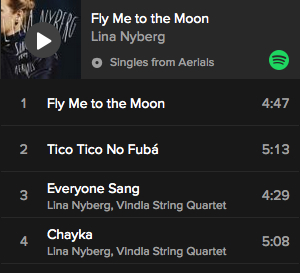 Singles from Aerials now on Spotify ⭐️