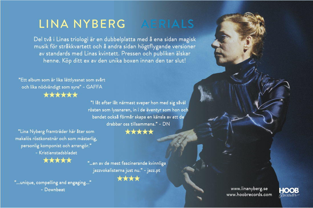 Aerials recieves raving reviews in Sweden  –   ⭐️⭐️⭐️⭐️⭐️⭐️⭐️⭐️⭐️⭐️⭐️⭐️⭐️⭐️