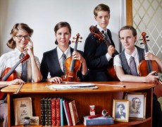 Lina Nyberg and Vindla String Quartet
