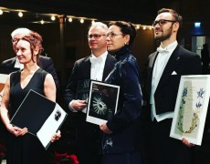 Lina Nyberg received the prestigious Jazz Prize from the Royal Swedish Academy of Music