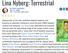 "Great review on ""All About Jazz"" of Terrestrial"